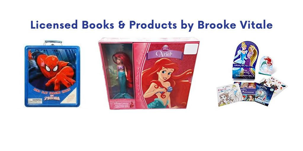Licensed Books by Brooke Vitale