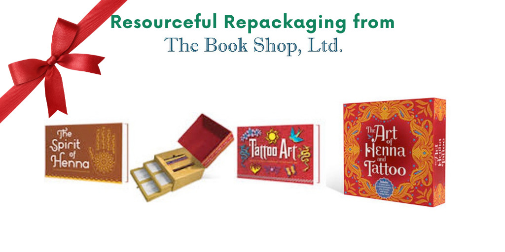 Resourceful Repackaging from The Book Shop