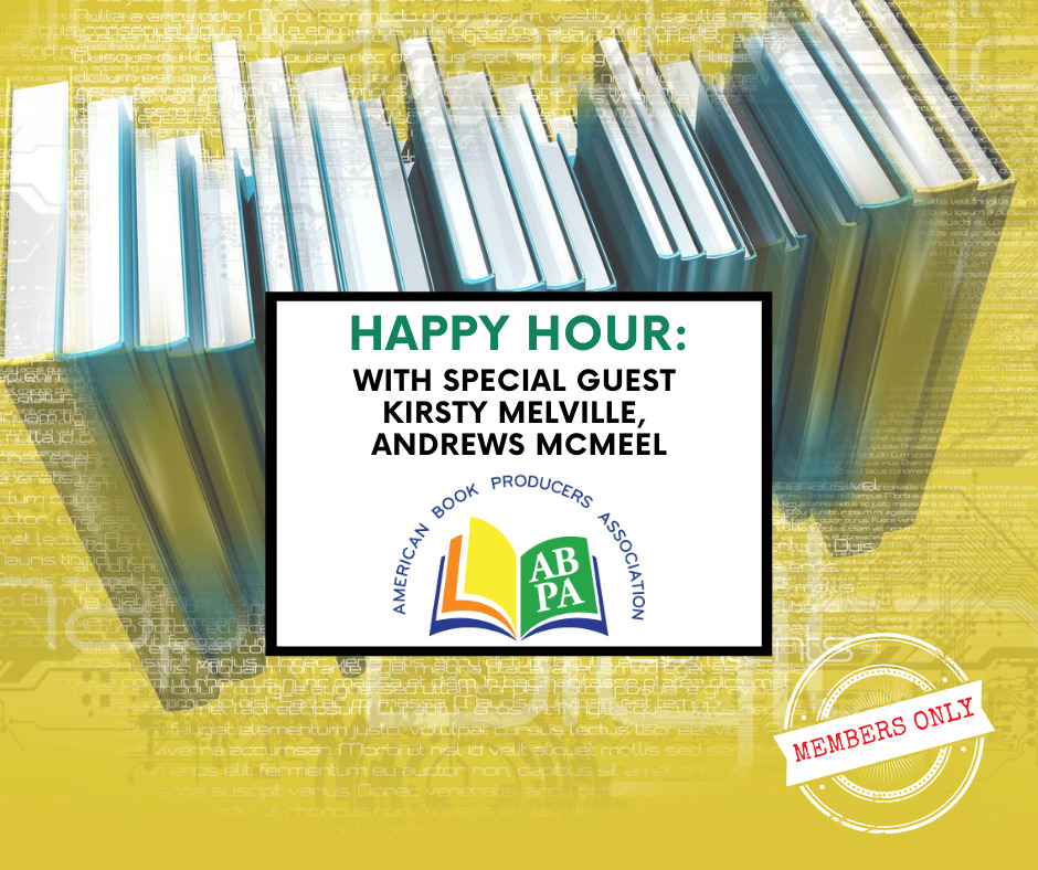 FB - ABPA Happy Hour Kirsty Melville, Andrews McMeel