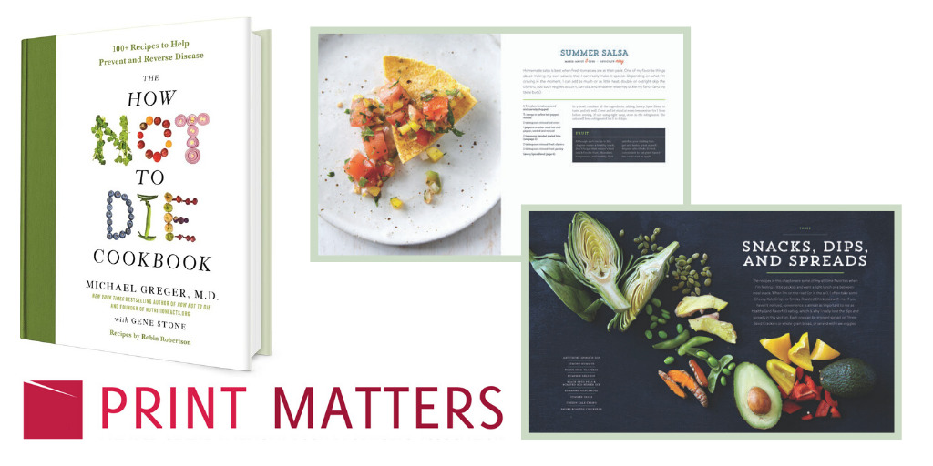 Print Matters How Not To Die Cookbook